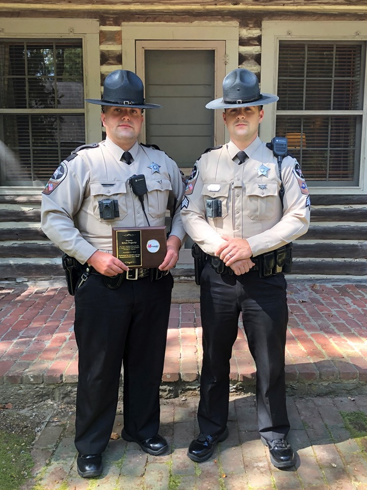 Deputy Brian L Fogarty Recognized WESTMORELAND COUNTY